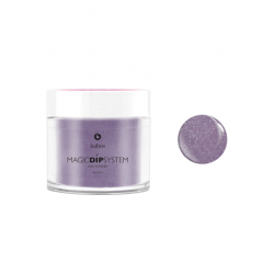 Puder do manicure tytanowy 20g - KABOS Dip 29 Purple Shimmer