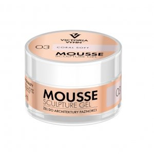 ŻEL DO ARCHITEKTURY PAZNOKCI MOUSSE SCULPTURE GEL 03 – POLAR WHITE 50 ML VICTORIA VYNN