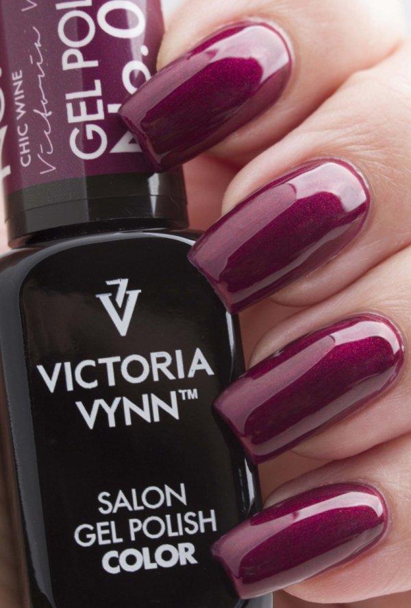 Lakier hybrydowy Victoria Vynn GP 029 Chic Wine