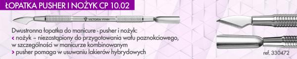 ŁOPATKA PUSHER I NOŻYK CP 10.02 - Victoria Vynn