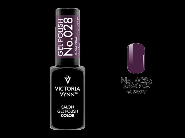 Victoria Vynn lakier hybrydowy piękny śliwkowy