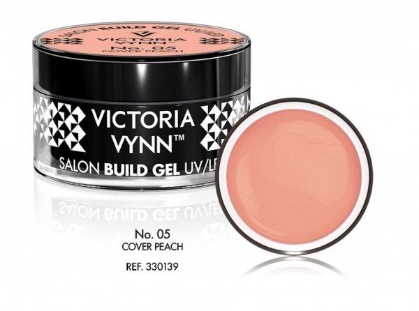 Victoria Vynn cielisty kryjący żel budujący  15ml Cover Peach