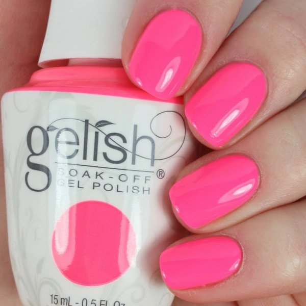 GELISH Pretty As A Pink-ture 15 ml (1110256) - neonowy