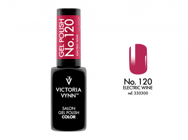120 Electric Wine Lakier Hybrydowy Victoria Vynn Gel Polish