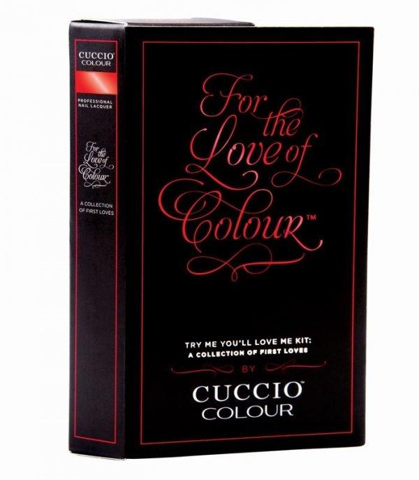 CUCCIO Colour Zestaw MINI Lakierów 4x4 ml