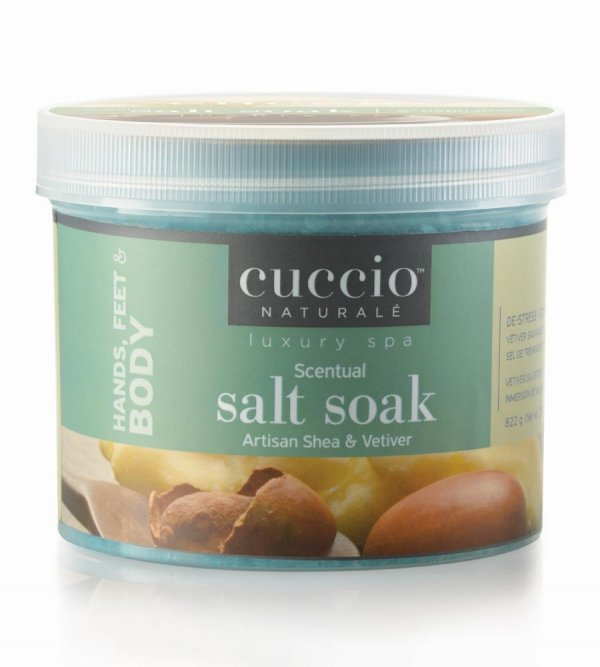Sól do moczenia stóp i dłoni Cuccio Artisan Shea 822 g