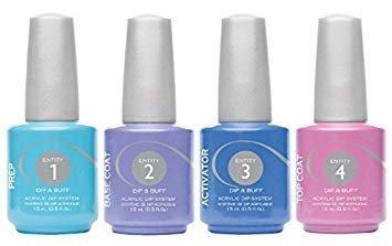 Manicure tytanowy krok 4 - Entity Dip Top 15ml
