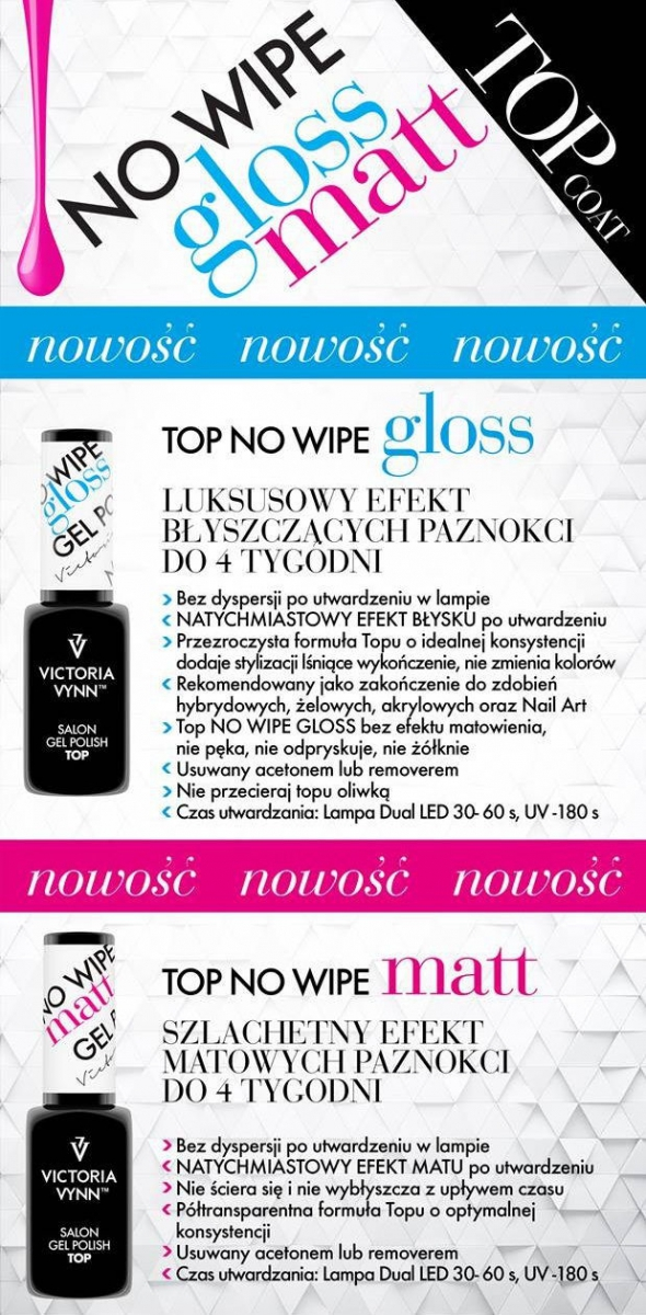 Top Gloss No wipe 8 ML VICTORIA VYNN 8 ml