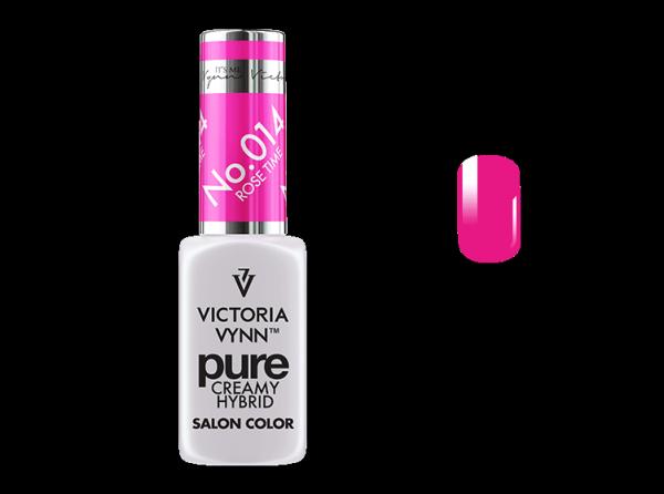 014 Rose Time - kremowy lakier hybrydowy Victoria Vynn PURE (8ml)