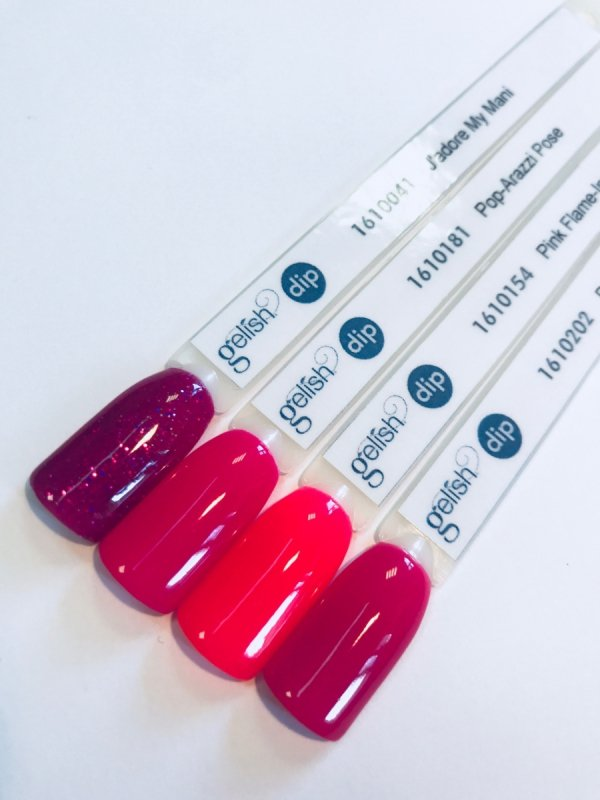 Puder do manicure tytanowy - GELISH DIP - J'adore My Mani 23 g - (1610041)