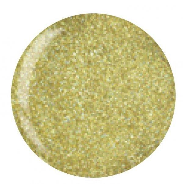 Puder do manicure tytanowy - Cuccio DIP - Gold Mica 15G (5565)