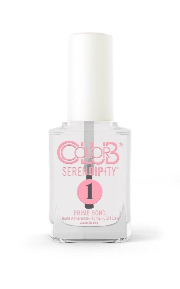 Color Club Prep krok 1 -  PRIME BOND 15ml -  (PRZYGOTOWANIE + BAZA - 2 W 1) DIP 1- manicure tytanowy
