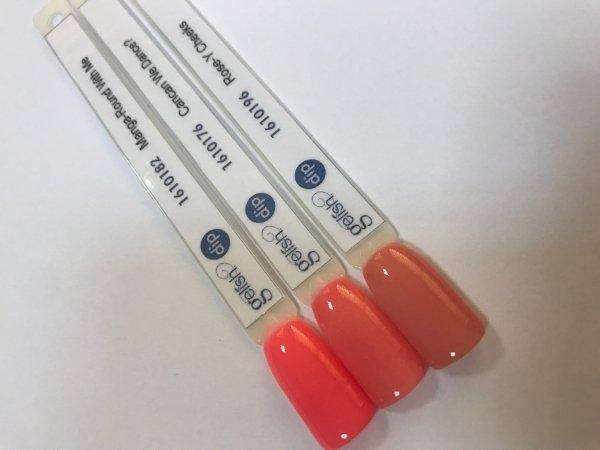 Puder do manicure tytanowego kolor Rose-y Cheeks DIP 23 g GELISH (1610196)