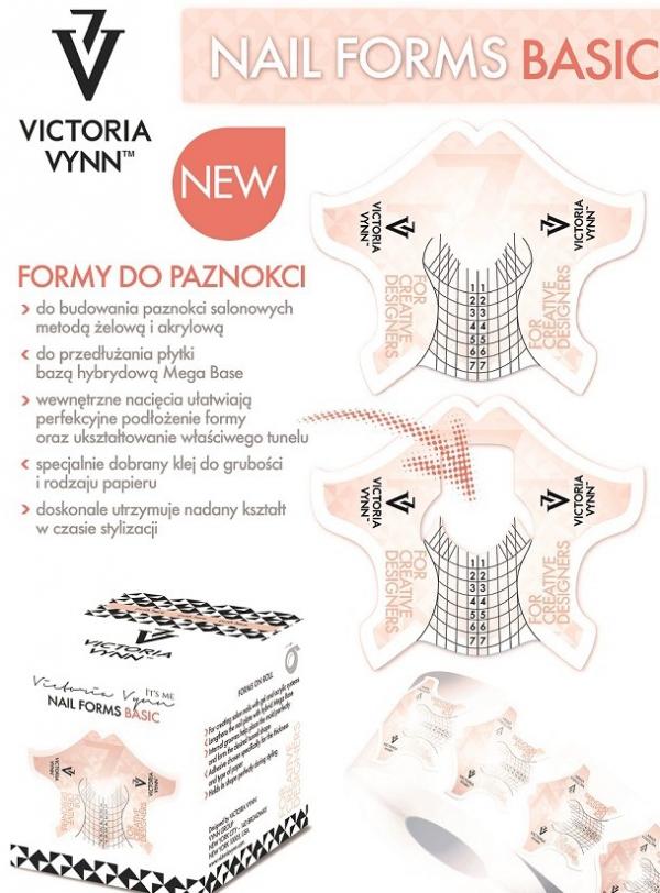 Victoria Vynn szablony do przedłużania paznokci 100szt
