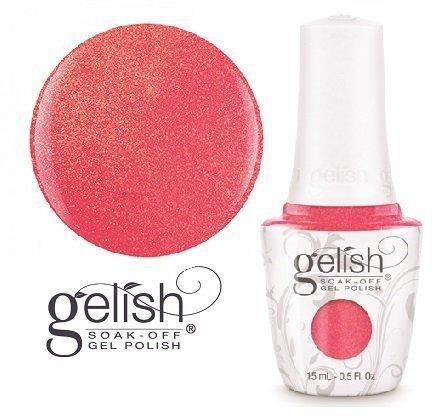 Lakier hybrydowy Hip Hot Coral 15 ml (1110222) - neonowy, błyszczący GELISH