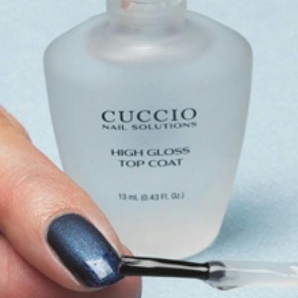 Top Nabłyszczający na lakiery klasyczne Cuccio High Gloss 15ml