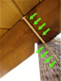 Wkręty ciesielskie 6x140 mm talerzowe - 100 szt