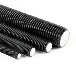 Pręt M6x1000 gwintowany, czarny kl.10.9 DIN 976