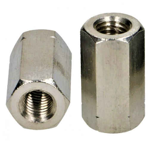 Nakrętka M8x24 złączna DIN 6334 A2 - 50 szt
