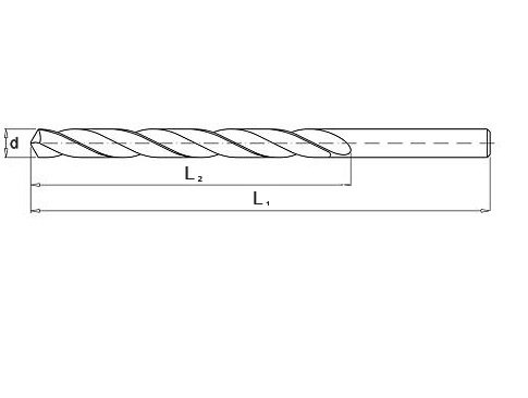 Wiertło do metalu 11,5 mm NWKa HHS BAILDON