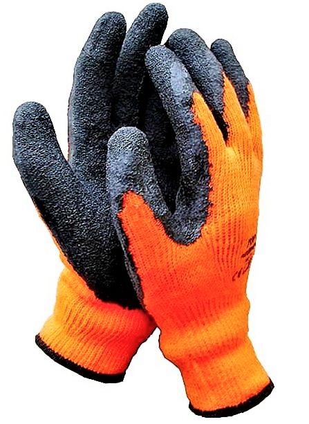 Rękawice robocze ocieplane roz.10 - 12 par