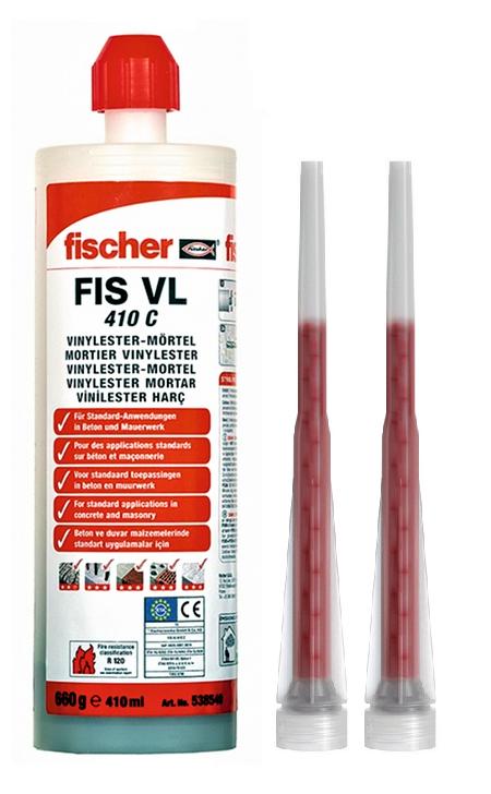 Kotwa chemiczna FISCHER FIS VL 410 C (540986)