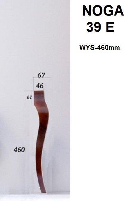 Noga drewniana 39-E