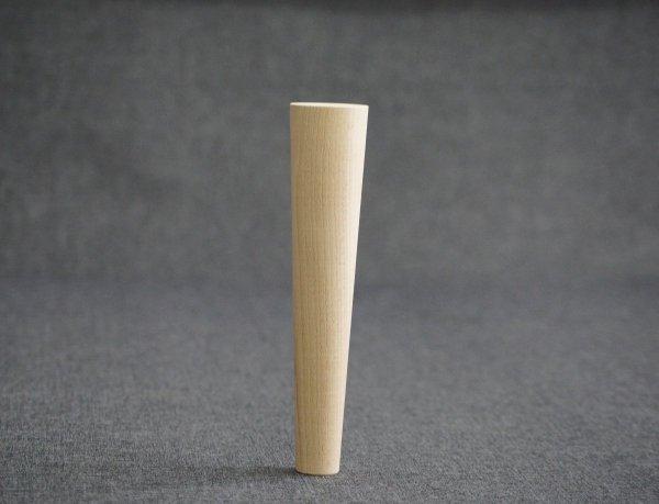 Noga drewniana do mebli 24 B /stożek prosty/