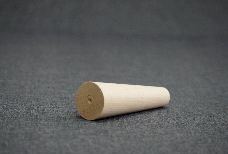 Noga drewniana do mebli 16 B /stożek prosty/