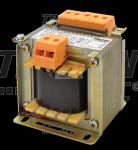 Zwykły transformator jednofazowy 230V / 6-12-18-24V, max.100VA TVTR-100-B