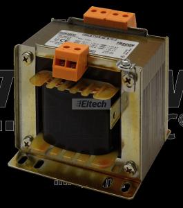 Zwykły transformator jednofazowy 230V / 42-110-230V, max.300 VA TVTR-300-E