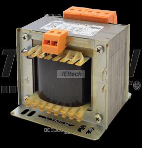 Zwykły transformator jednofazowy 230V / 24-42-110V, max.400VA TVTR-400-D