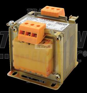 Transformator bezpieczeństwa, jednofazowy 230-400V / 24-230V, max.100VA TVTRB-100-F