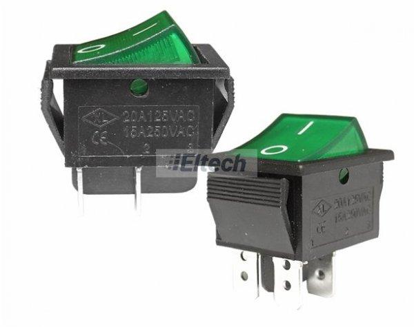 Przełącznik MK621 zielony