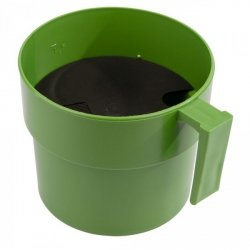 Kubek - przedzdajacz Kerbl, zielony