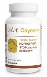 Dolvit Cayenne - KOPROFAGIA - STOP zjadaniu odchodów