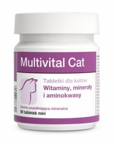 Multivital Cat - tabletki dla kotów mineralno-witaminowo-aminokwasowe 90tabl.