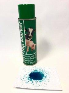 Spray do znakowania zwierząt, TopMarker 500ml, zielony