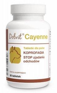 Dolvit Cayenne - KOPROFAGIA - STOP zjadaniu odchodów 90 tabletek