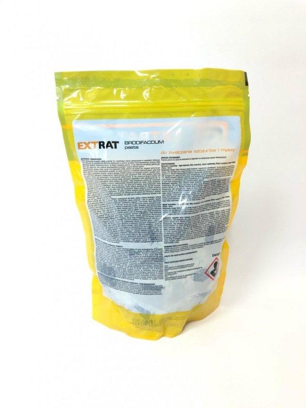 Extrat pasta niebieska 1kg - trutka na myszy i szczury