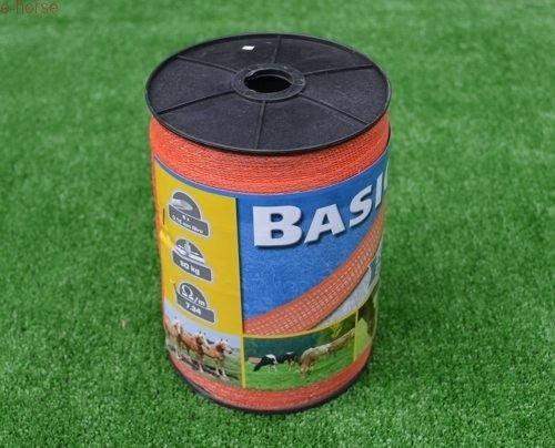 Tasma Basic 20mm 200m Czerwona Plecionka Ogrodzenie Elektryczne
