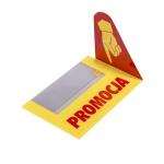 Osłonka cenowa - PROMOCJA żółta - na listwę cenową - 5 sztuk