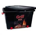 Pojemnik Roller Box (grill) z pokrywą 40L