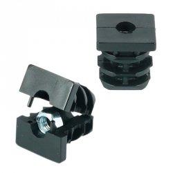 Wkładka z gwintem metalowym 40x40mm M8 ść.1,5-2,0 - 50 sztuk