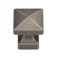 Gałka meblowa GR47 - stare srebro