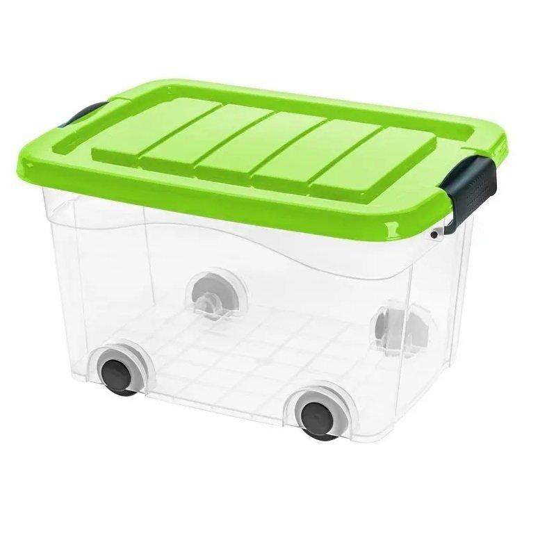 Pojemnik Roller Box z pokrywą 20L - kolory