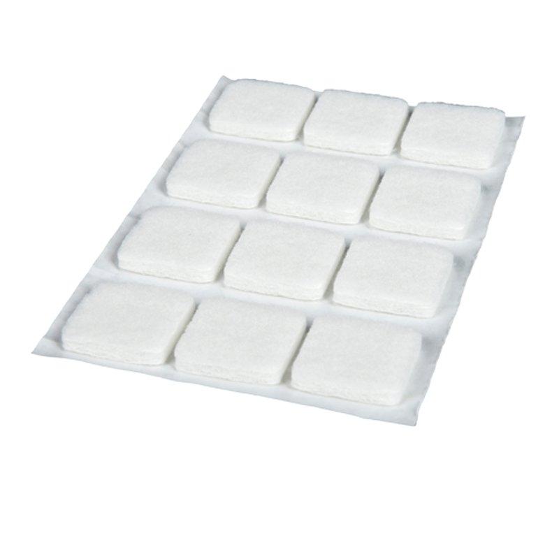 Podkładki filcowe kwadratowe 27x27 - 12 sztuk