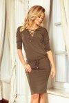 Sukienka Model Janet 230-3 Khaki