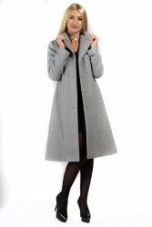 Płaszcz Damski Model Oliwia PLA033 Grey