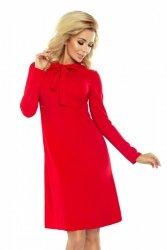 Elegancka sukienka dzienna S-XXL OLA RED